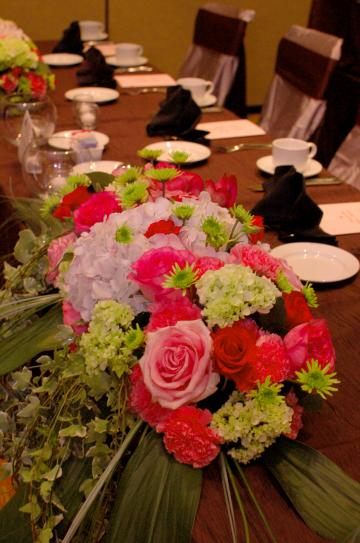 Beautiful table flowers for your wedding or gala