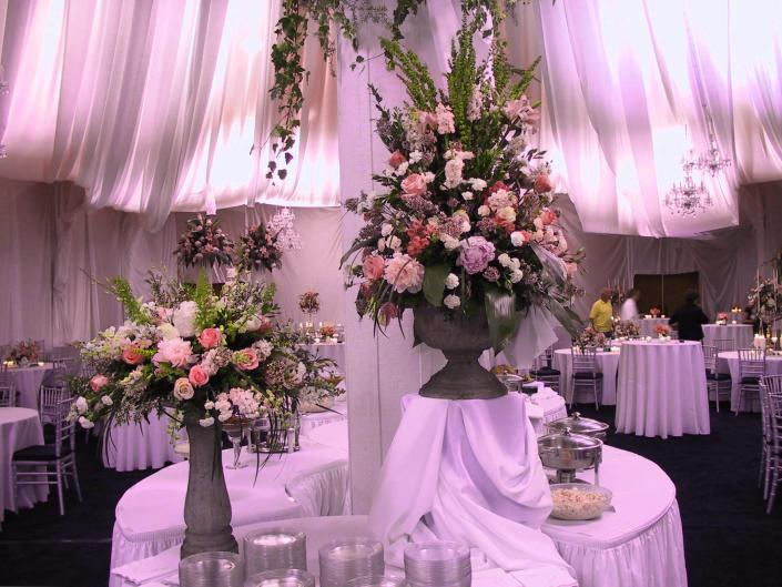[Image: Let us create the fairytale wedding reception of your dreams. Is your style more modern-contemporary? We can do that too!]